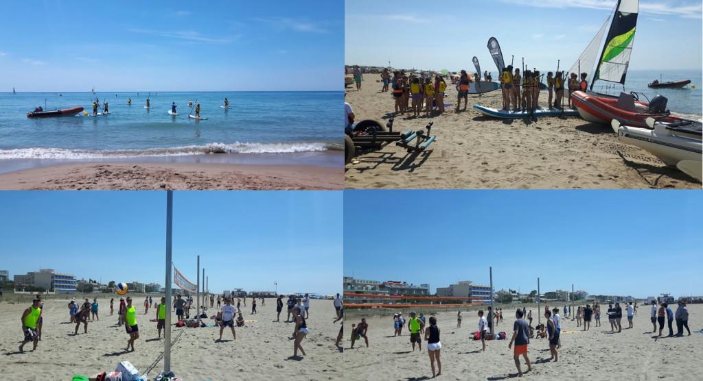 Actividades en la playa